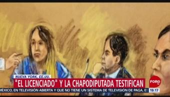 'El Licenciado' 'La Chapodiputada' Testifican Chapo