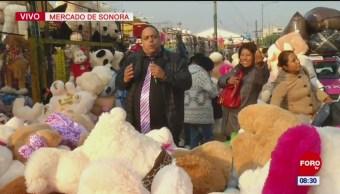 'El Repor' suelto en el Mercado de Sonora