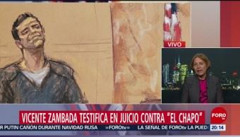 El Vicentillo Testifica Juicio Contra El Chapo Guzmán