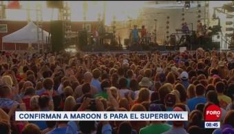 #EspectáculosenExpreso: Confirman a Maroon 5 para el Super Bowl