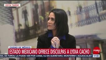 Estado mexicano ofrece disculpas a Lydia Cacho