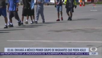 EU: México se hará cargo de migrantes que crucen frontera