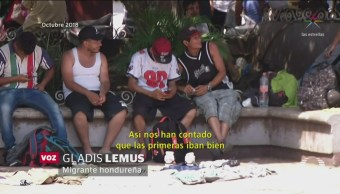 Foto: EU traslada a México a 11 migrantes centroamericanos