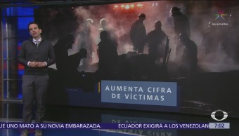 Explosión en Tlahuelilpan dejó casi cien muertos