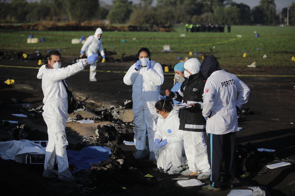 Harán pruebas genéticas a víctimas de explosión en Hidalgo