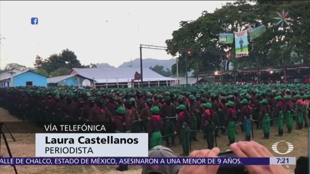 EZLN visibilizó crisis social y el zapatismo todavía tiene influencia, dice especialista