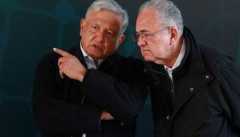 Jiménez Espriú no involucrado transportación gasolina: AMLO