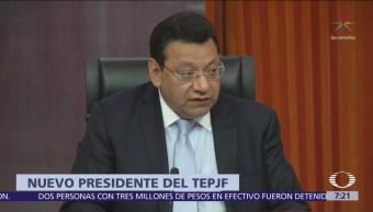 Felipe Fuentes, nuevo presidente del Tribunal Electoral de la Federación