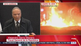 Fiscal general de México promete que cronología de Tlahuelilpan será aclarada