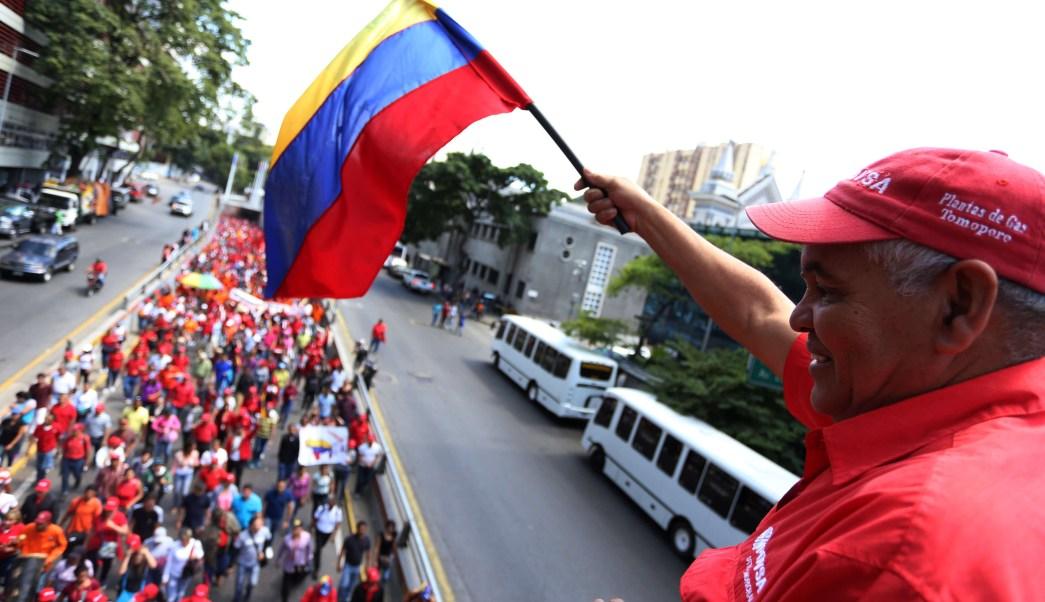 Foto: Seguidores del presidente de Venezuela, Nicolás Maduro, asisten a mitin en Caracas el 31 de enero del 2019