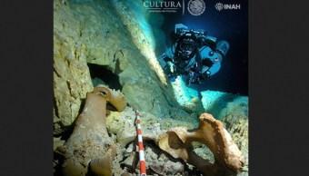 Foto: zonas arqueológicas subacuáticas en el Museo de Arqueología Subacuática Fuerte de San José el Alto, INAH, 24 de enero 2019