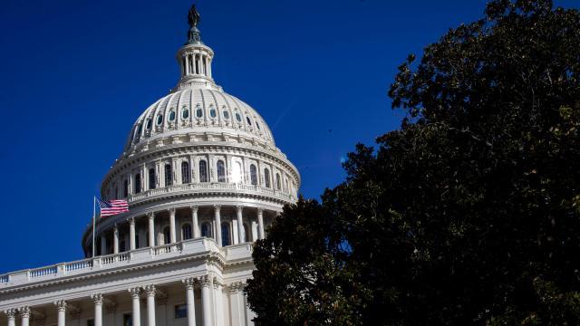 Foto: Sede del Congreso de Estados Unidos, imagen del 20 de enero del 2019