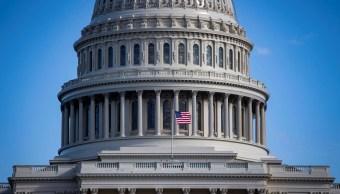 Foto: Imagen panorámica del Congreso de Estados Unidos del 20 de enero del 2019