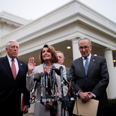 Demócratas piden a Trump reabrir Gobierno y debatir luego el muro