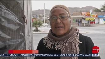Frente frío 26 causa temperaturas congelantes en Chihuahua