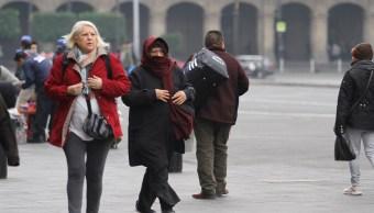 Frente frío 26 provocará lluvia y bajas temperaturas