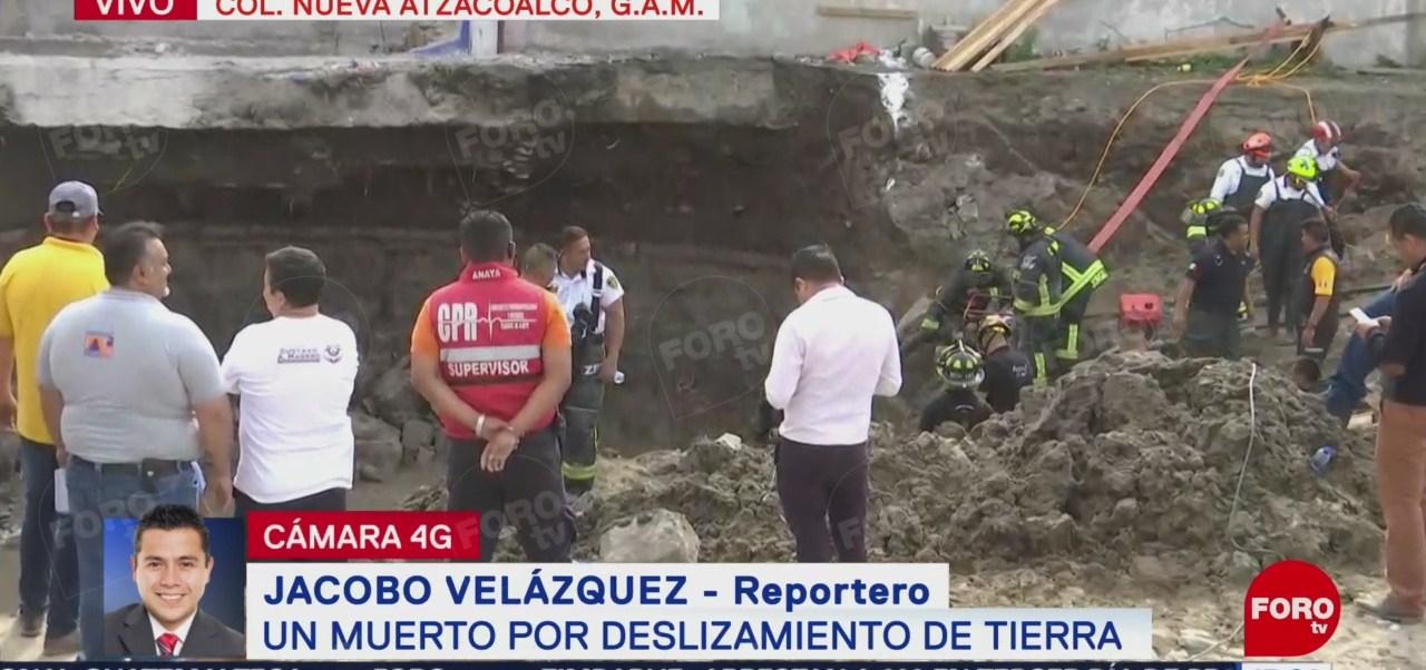 Fuga de agua, posible causa de deslizamiento en construcción de la GAM