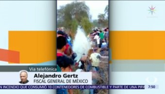 Gertz Manero: Se agotarán todas las líneas de investigación en Tlahuelilpan