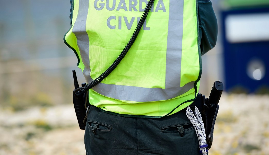 foto guardia civil española 3 abril 2014