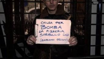 Italia: Paquete bomba estalla en conocida pizzería de Nápoles