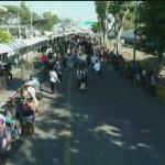 Golpean a migrantes hondureños en Guatemala