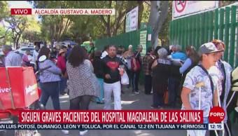 Graves, 9 heridos de Tlahuelilpan internados en Magdalena de las Salinas