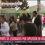 Graves los heridos tras explosión en Tlahuelilpan