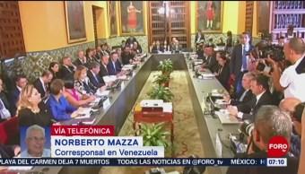 Grupo de Lima reclama el restablecimiento de la democracia en Venezuela