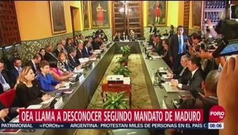 Grupo Lima firma petición para no reconocer mandato de Nicolás Maduro