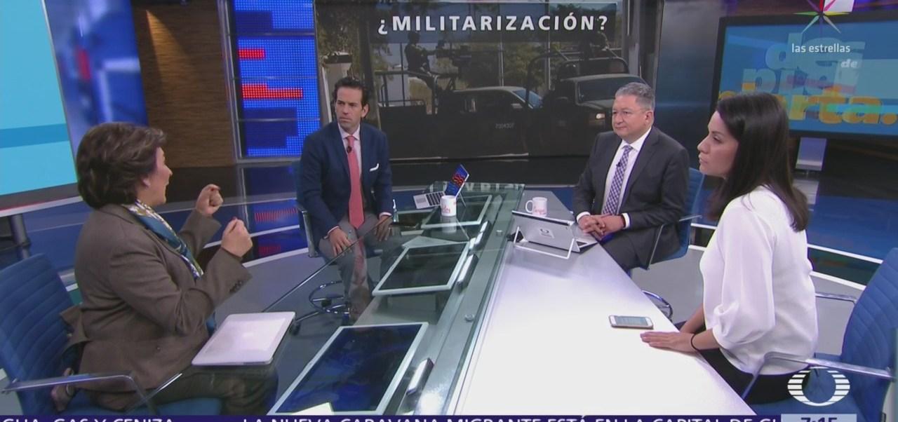 Guardia Nacional, análisis en la mesa de Despierta con Loret