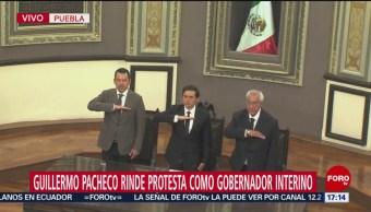 Guillermo Pacheco Pulido rinde protesta como gobernador de Puebla