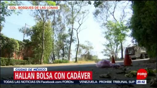 Foto: Bolsa Cadáver Bosque De Las Lomas 29 de Enero 209
