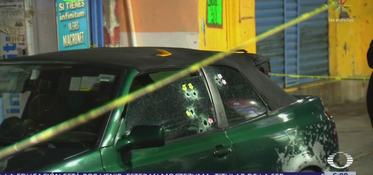 Hombre es baleado en la Unidad El Rosario, Azcapotzalco