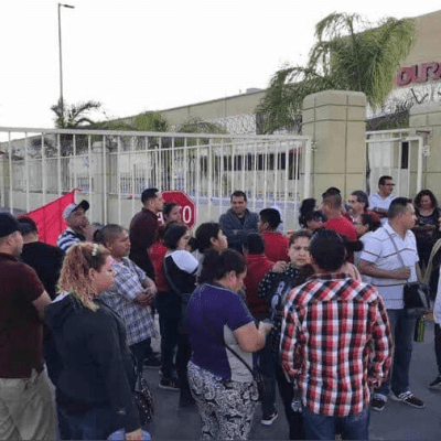 Levantan huelga 14 maquiladoras en Matamoros, Tamaulipas