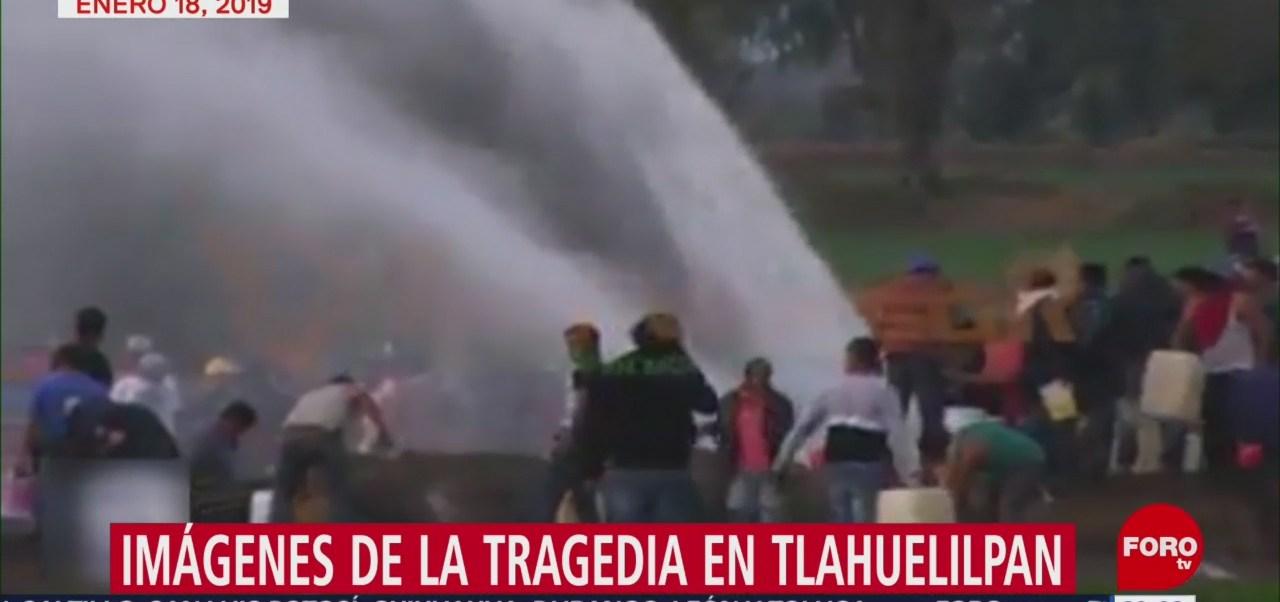 Imágenes De La Explosión En Tlahuelilpan