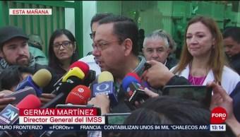 IMSS atiende a los lesionados más graves de Hidalgo
