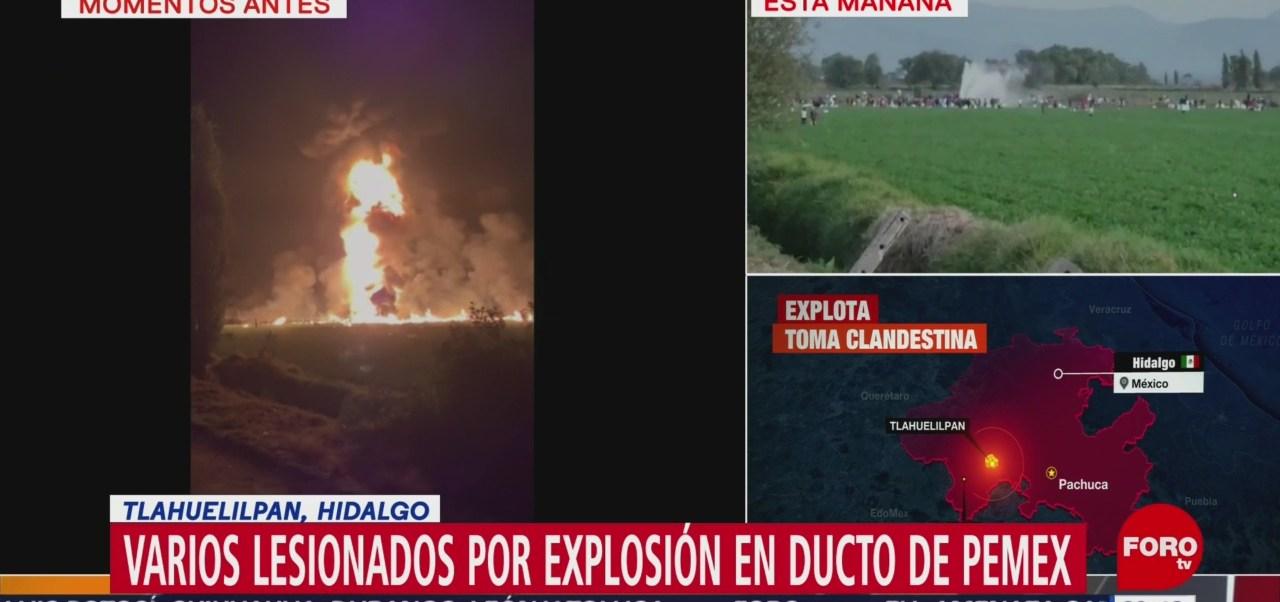 Instalan Comité Nacional Emergencias Explosión Tlahuelilpan