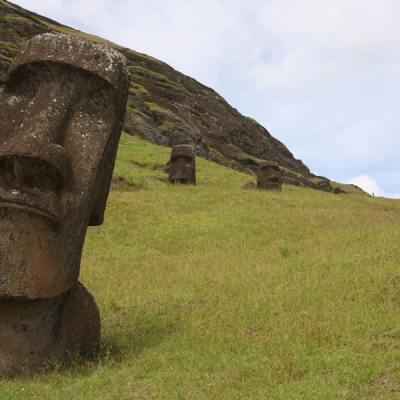 Resuelven misterio detrás de las cabezas de la Isla de Pascua