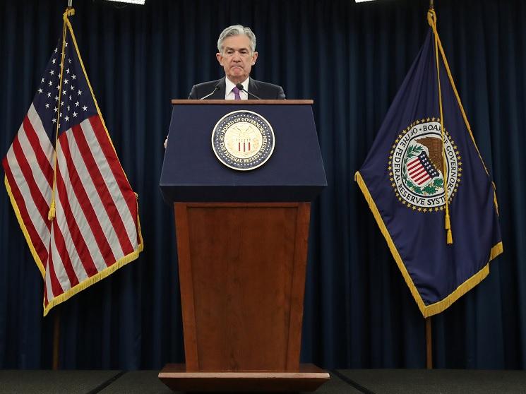 Foto: El presidente de la Reserva Federal, Jerome Powell, da una conferencia de prensa luego de una reunión de política de dos días del Comité Federal de Mercado Abierto en Washington, 30 de enero de 2019 (Reuters)