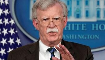 Foto: John Bolton, asesor de seguridad nacional de Estados Unidos durante una conferencia de prensa en la Casa Blanca en Washington, 27 de noviembre de 2018. (Archivo/ Reuters)