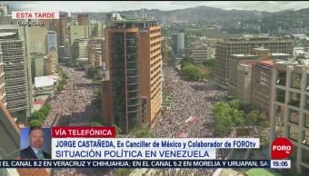 Jorge Castañeda habla de la situación política de Venezuela