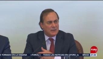 Foto: Juan Pablo Castañón Advierte Pérdidas Millonarias Bloqueo Cnte 28 de Enero 2019
