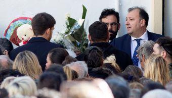 Foto: Cientos de personas acuden a dar su último adiós a Julen, 27 enero 2019