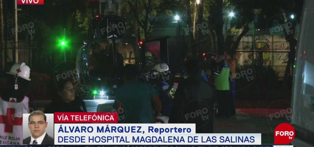 Llegan Heridos Explosión Tlahuelilpan Hospital Magdalena Salinas