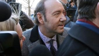 Kevin Spacey comparece ante corte por abuso sexual