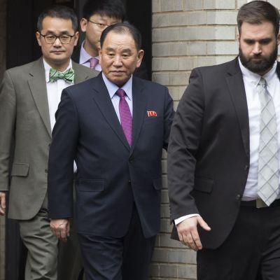 Trump se reúne con líder de la inteligencia norcoreana en la Casa Blanca