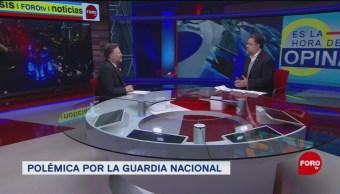 Foto: ntervención militar reduce delincuencia guardia nacional 23 de enero 2019