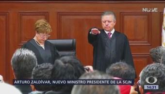 La SCJN elige a Arturo Zaldívar como ministro presidente