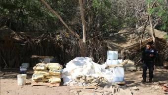 Seguridad Sinaloa; aseguran dos laboratorios clandestinos