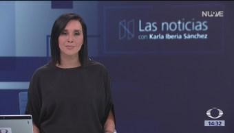 Las Noticias con Karla Iberia Programa del 15 de enero del 2019